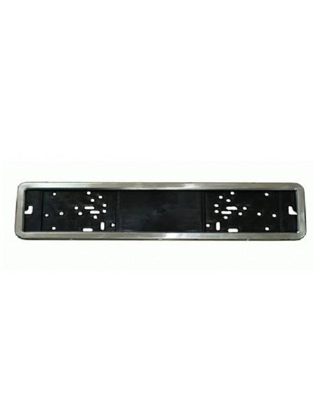 Автомобильная рамка под номер Vitol PH 50050 хром