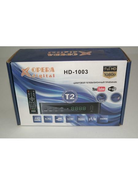 Приставка для цифрового телевидения Opera HD-1003