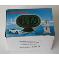 Электронные часы с термометром и вольтметром для автомобиля VST - 7095V