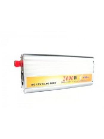 Инвертор / преобразователь напряжения TBE 2000 Вт