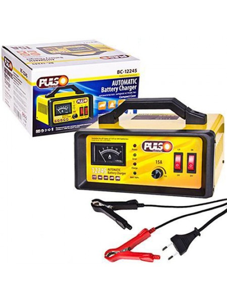 Зарядное устройство 12-24V Pulso BC-12245 15A