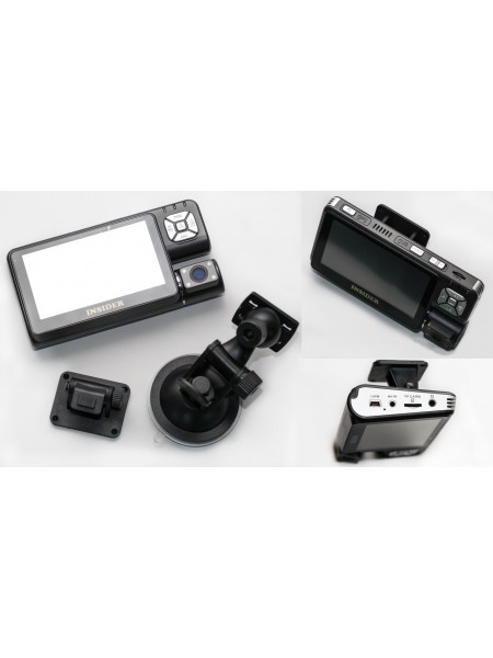 Навигатор с видеорегистратором (HD) INSIDER-T9