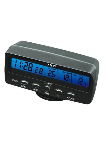 Часы, термометр, вольтметр VST 7045V